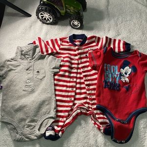 (Lot of 3) size 3-6 one piece